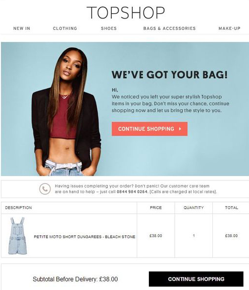 topshop-email-campaign