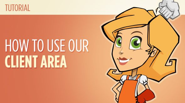 How to use our client area