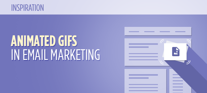25 Wonderful Examples of Animated GIFs in Email Marketing Templates