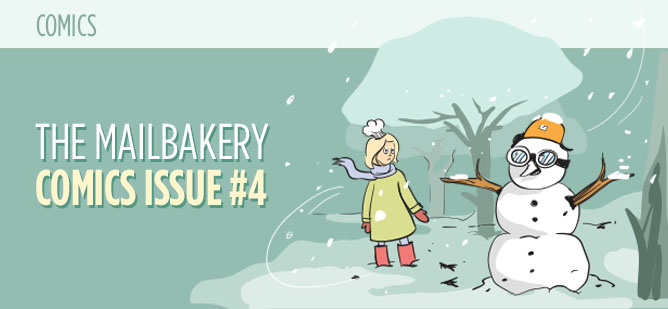 Comics Issue Number 4 - A Winter Story