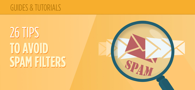 26 Tips To Avoid Spam Filters and Increase Email Deliverability Header