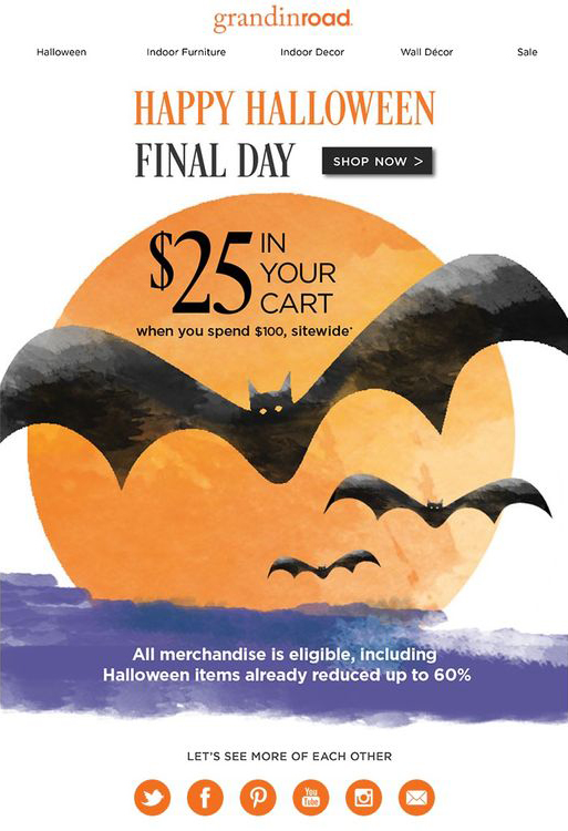 35 Halloween Email Examples Inspiration For Halloween Email Campaigns