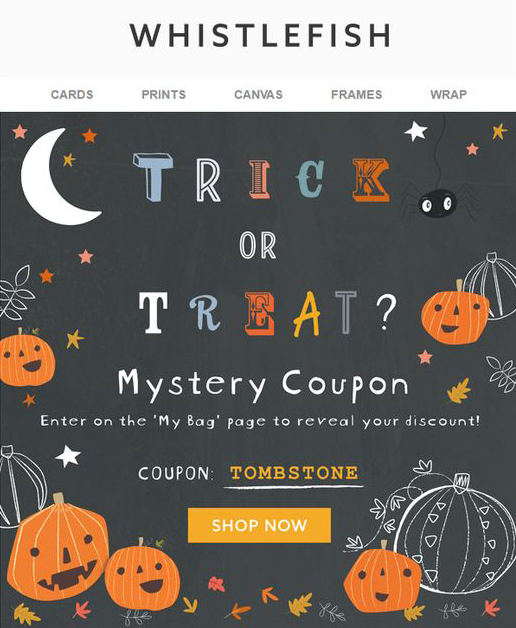 Halloween Email Background.35 Halloween Email Examples Inspiration For Halloween Email Campaigns