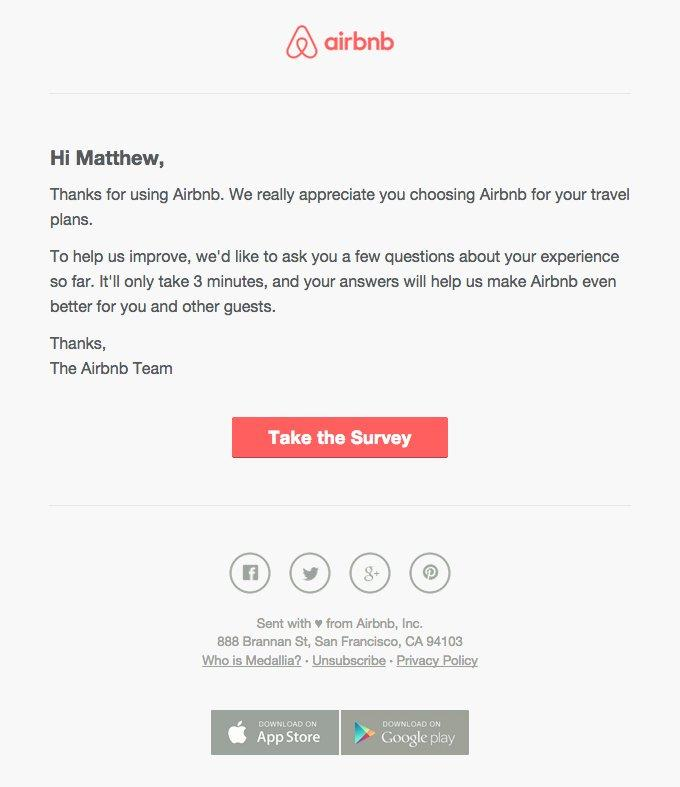 airbnb email marketing campaign examples