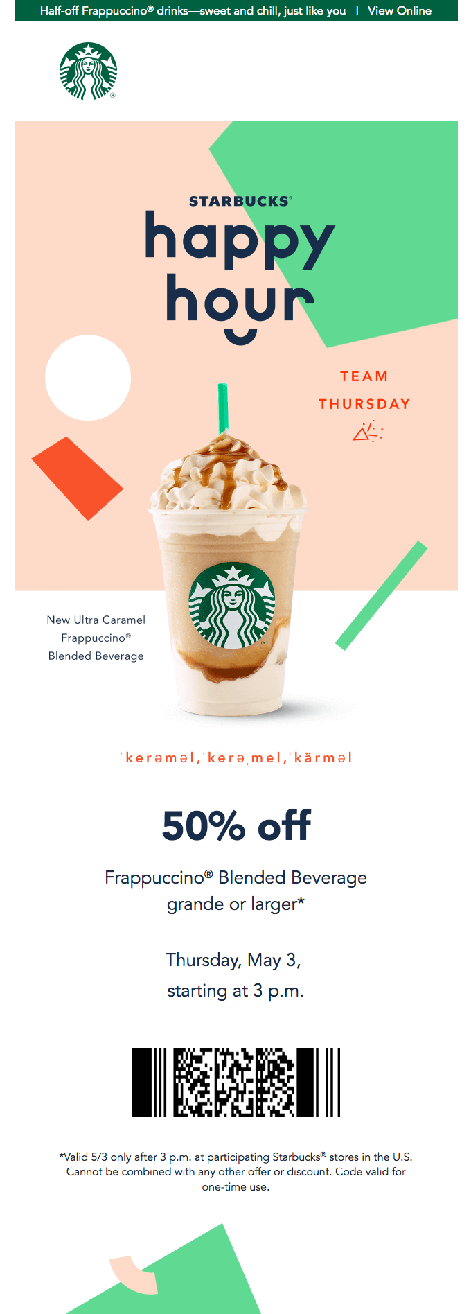 email marketing examples: loyalty email