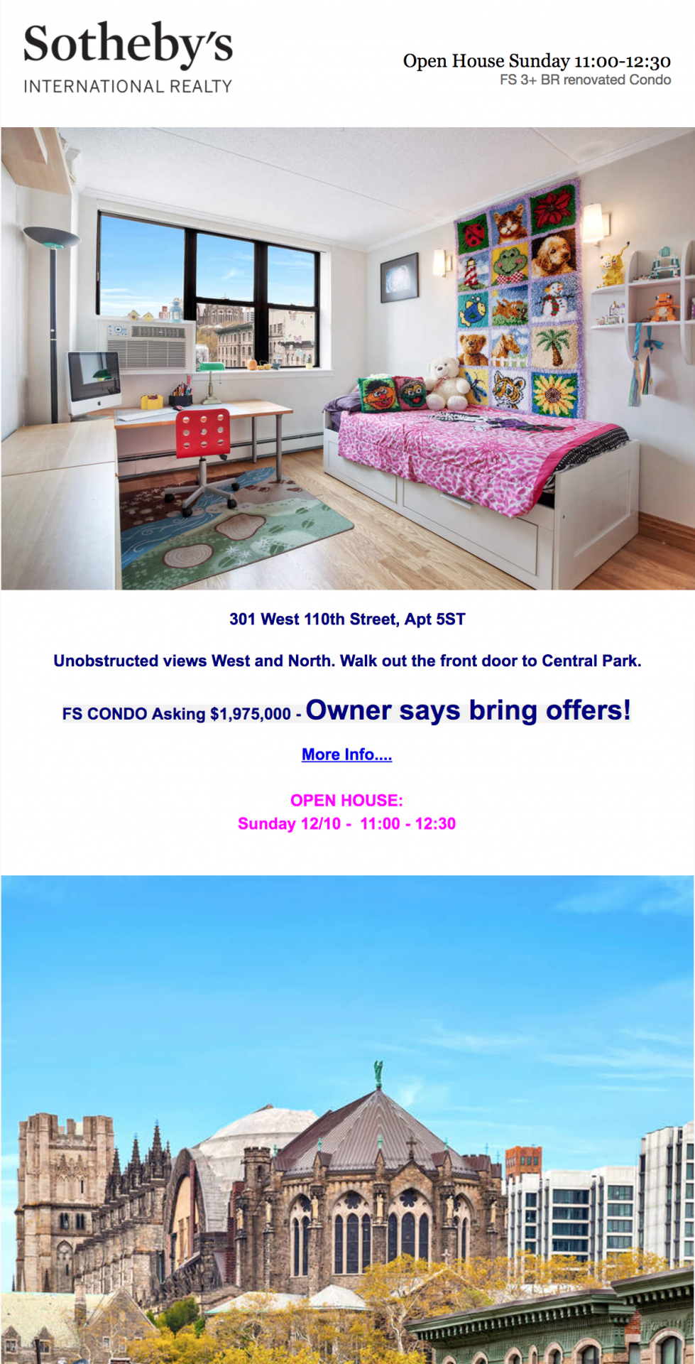 Sotheby's International Realty real estate newsletter example