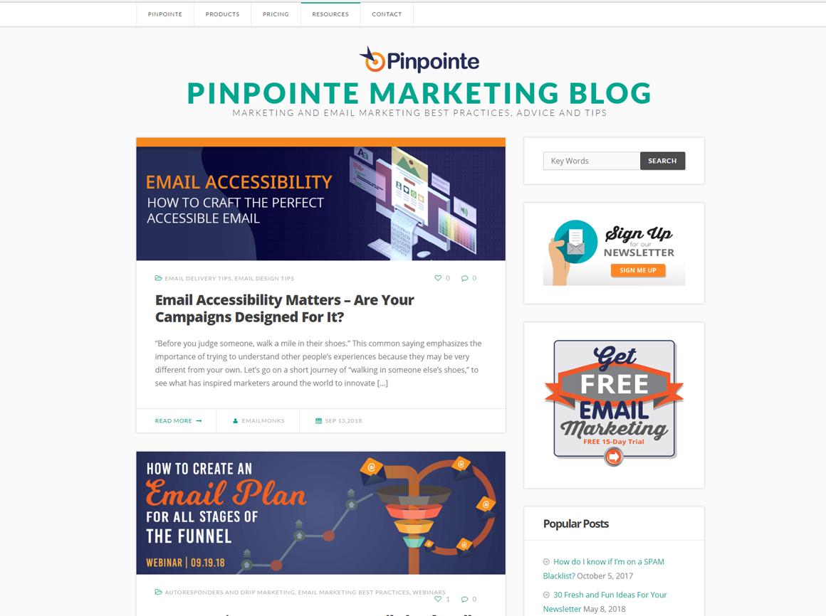 Pinpointe Blog
