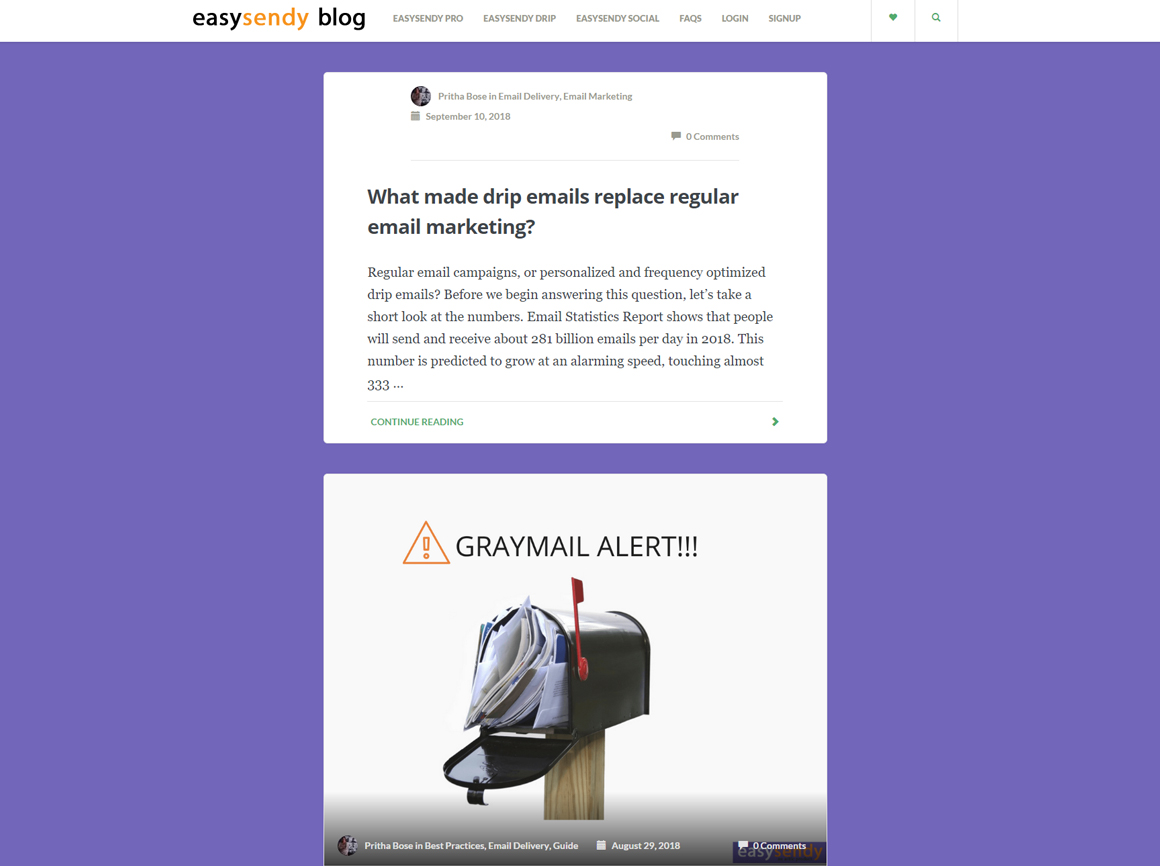 EasySendy Blog