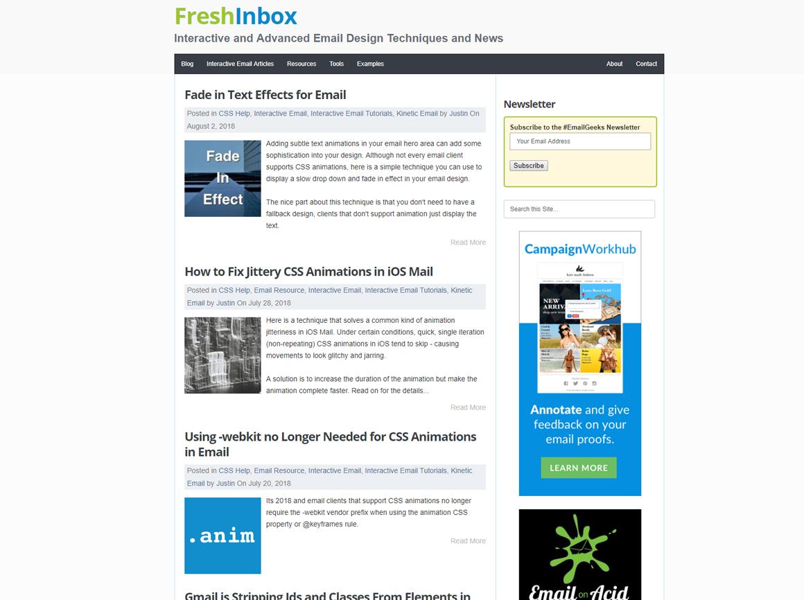 FreshInbox Blog