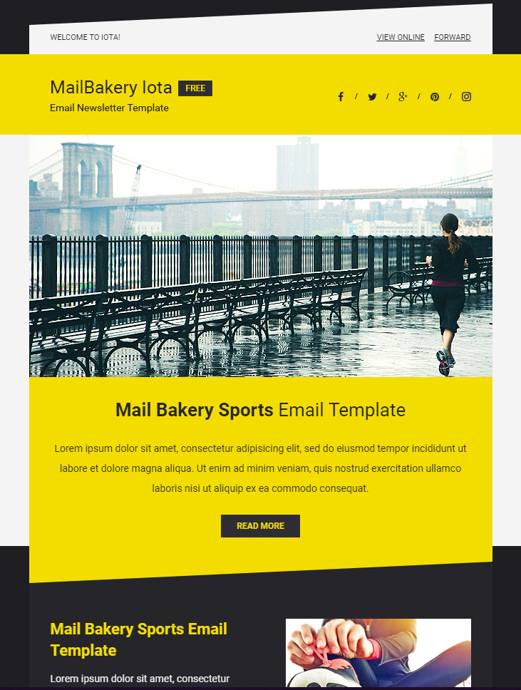 80+ Free MailChimp Templates to Kick-Start Your Email Marketing - MailBakery