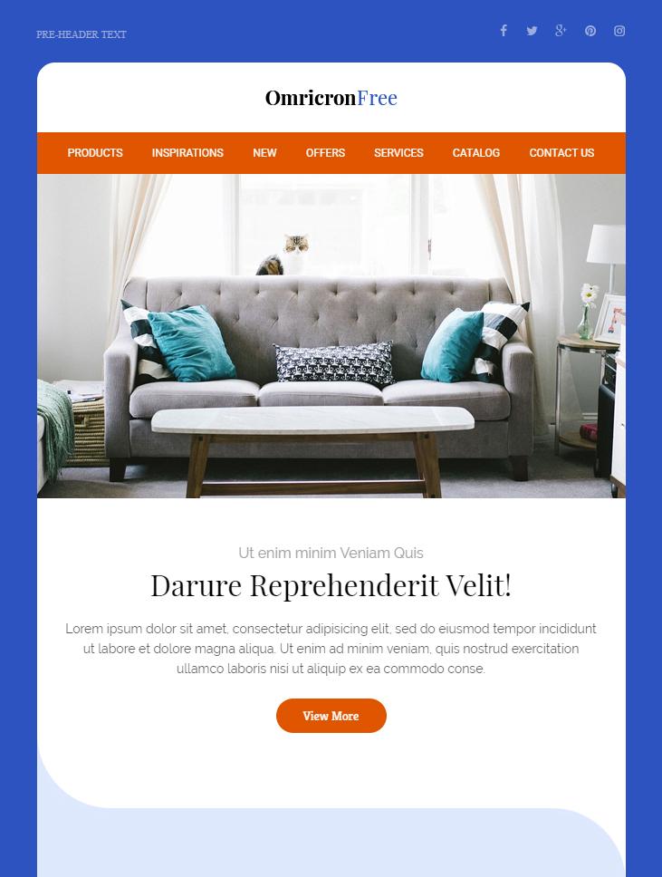 omricron-free-html-email-template