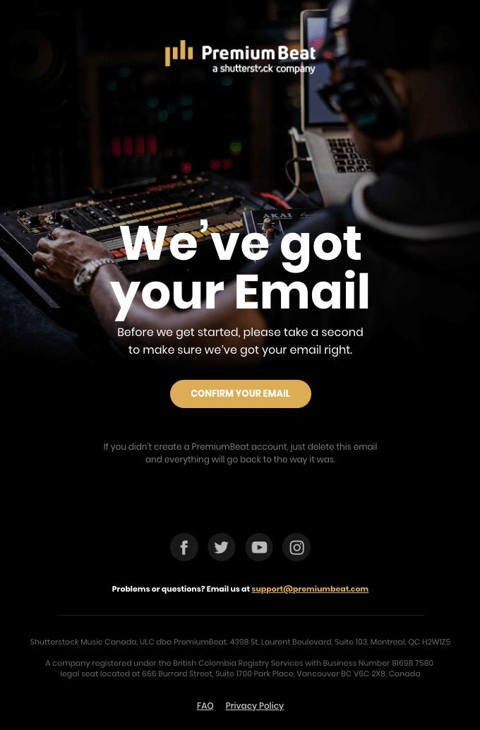 email design trends 2019 big typography