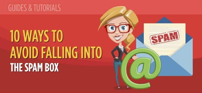 10 Ways To Avoid Falling Into The Spam Box