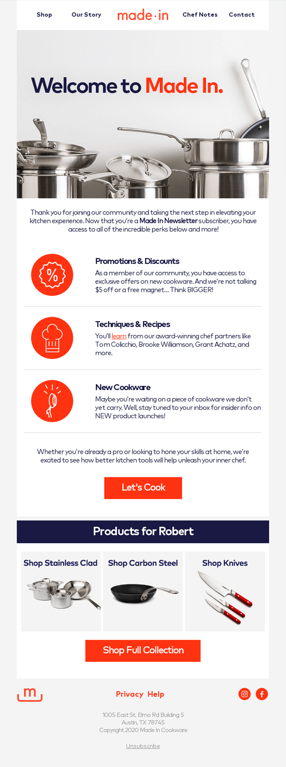 Email Automation Personalizes Customer's Experience