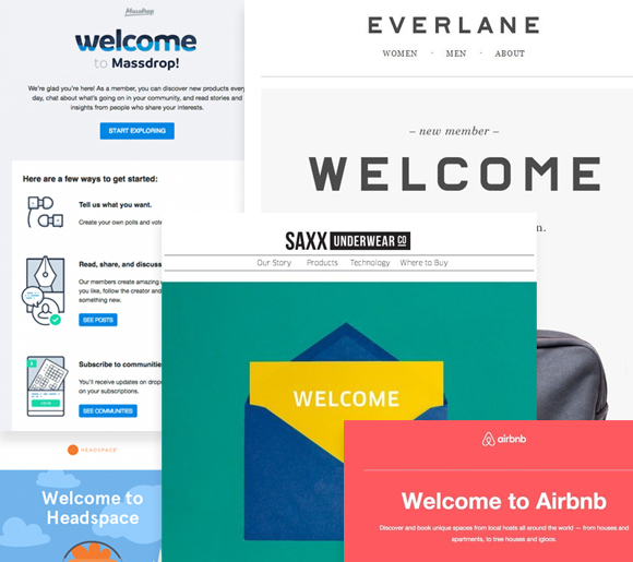 Email Automation Welcome Email by Everlane