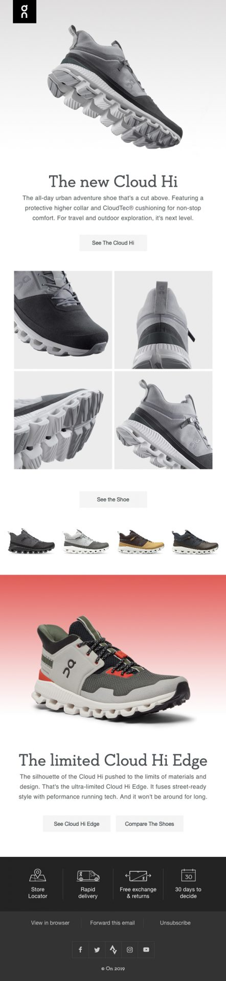 New Product or Specials by On Running