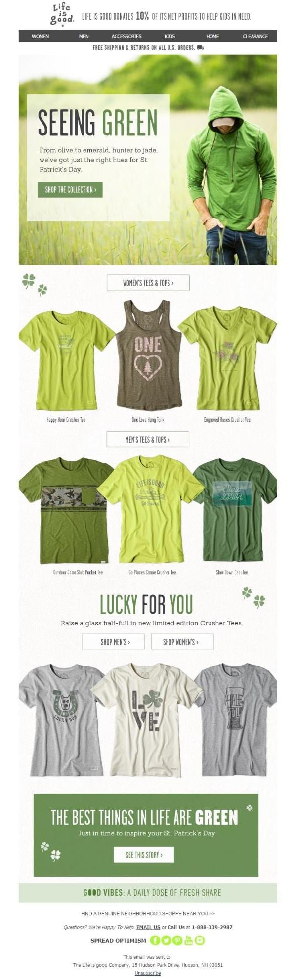 17 Clever St. Patrick's Day Email Campaigns