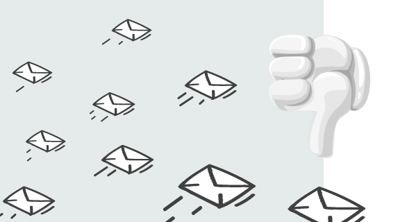 Sending too many emails can have a negative effect on your email deliverability