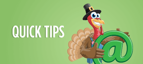 Quick Tips for Your Thanksgiving Email Campaign